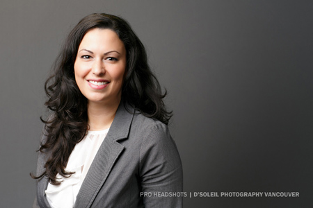 Corporate headshot Vancouver