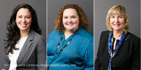 Metro Vancouver corporate headshots