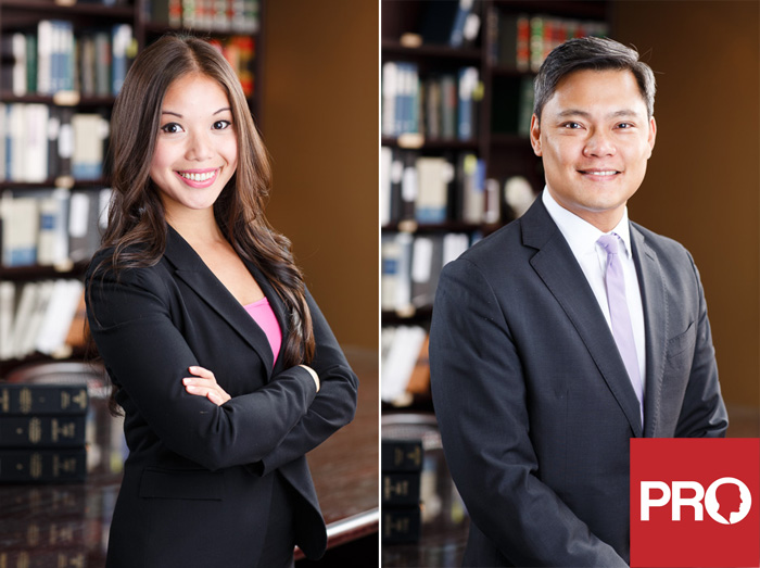 Vancouver law firm headshots
