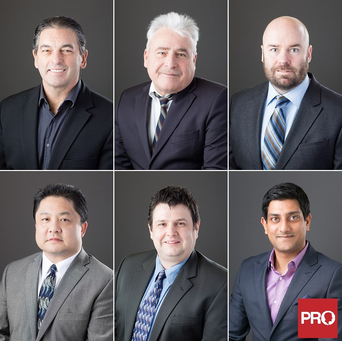 Insurance business headshot portraits