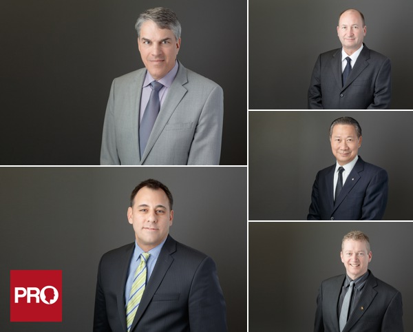 Corporate headshots for property managers and executives