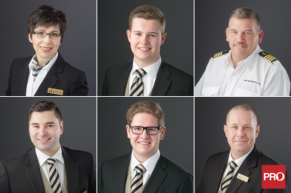 Small business headshots for a Vancouver funeral home