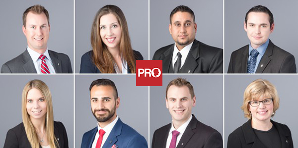 Corporate headshots for bankers in Vancouver