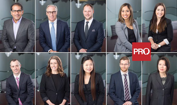 Headshots for corporate groups in Vancouver