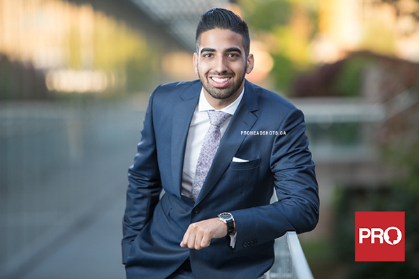 Metro Vancouver Realtor business headshot